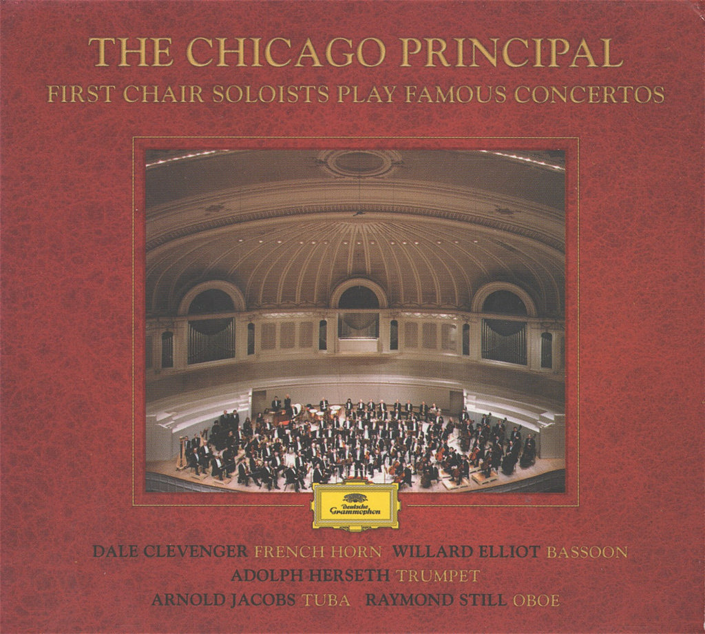 CD - The Chicago Principal: First Chair Soloist Play Concerti - DG B0000025-02 (2CD Set)