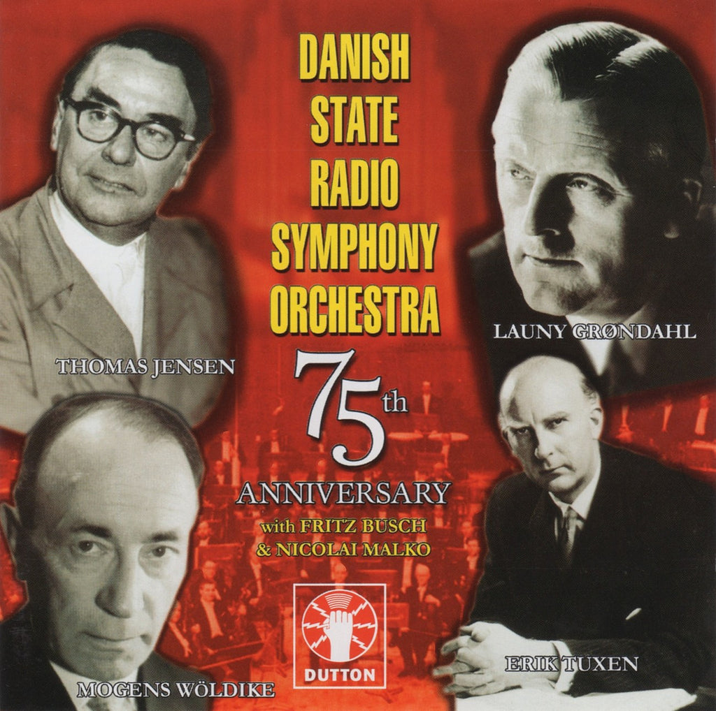 CD - Danish State RSO: 75th Anniversary (Busch, Tuxen, Malko, Et Al.) - Dutton 2CDEA 5027 (2CD Set)