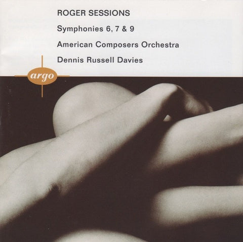 CD - Davies: Sessions Symphonies 6, 7 & 9 - Argo 444 519-2 (DDD)