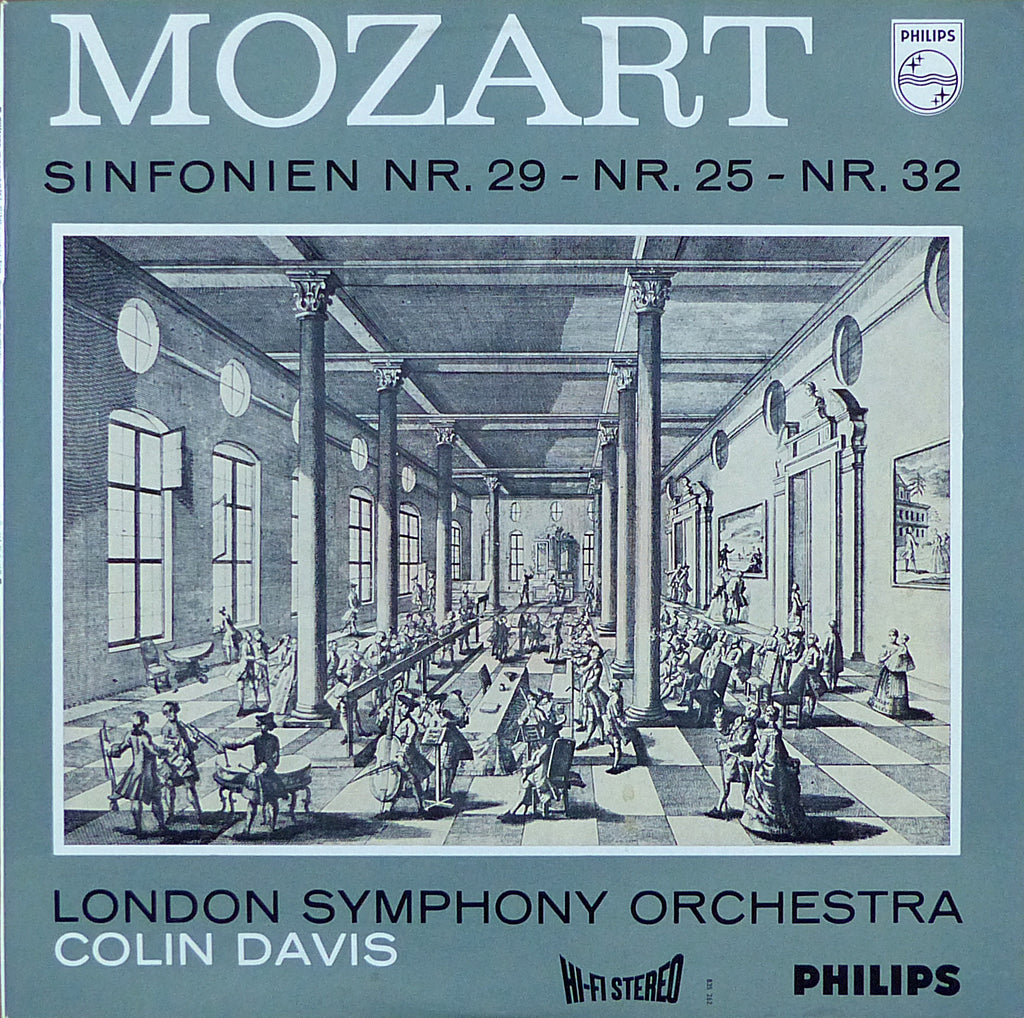Davis/LSO: Mozart Symphonies Nos. 25, 29 & 32 - Philips 835 262 AY