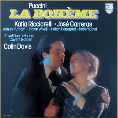 Davis: Puccini La Bohème (Carreras) - Philips 6769 031 (2LP box set)