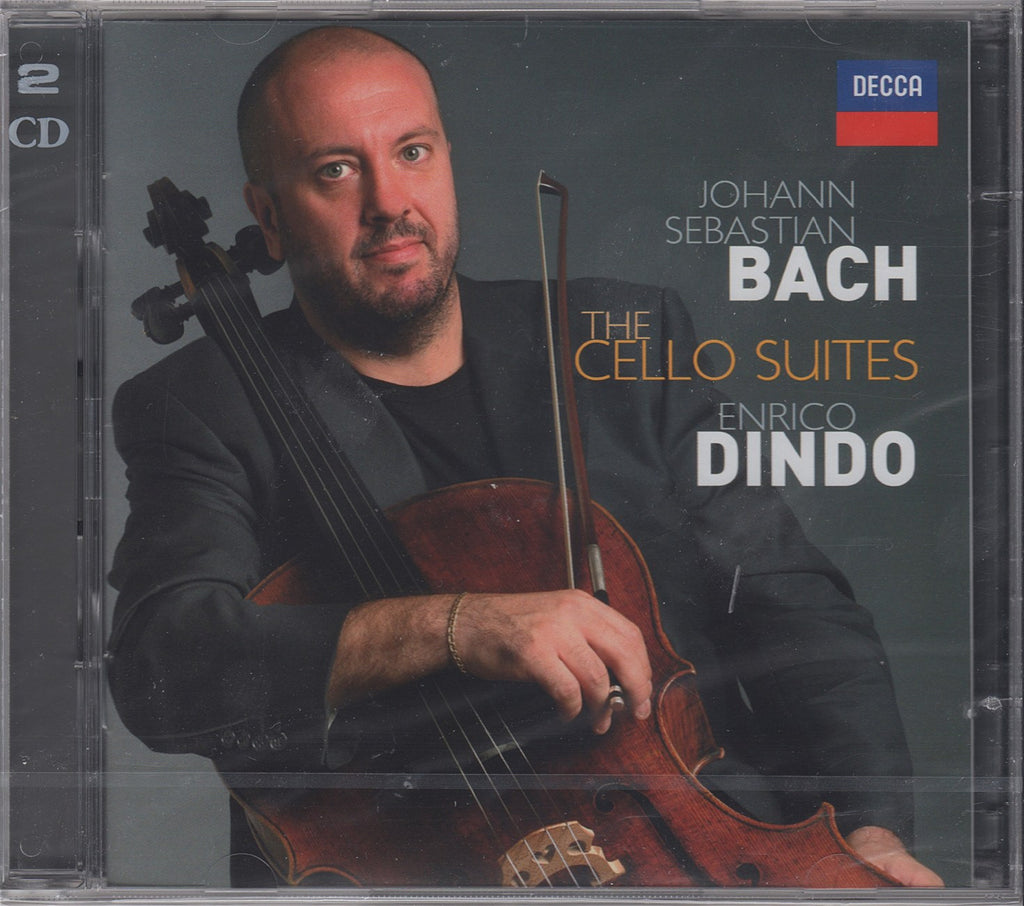 CD - Dindo: Bach 6 Suites For Solo Cello - Decca 476 4226 (DDD) (2CD Set, Sealed)
