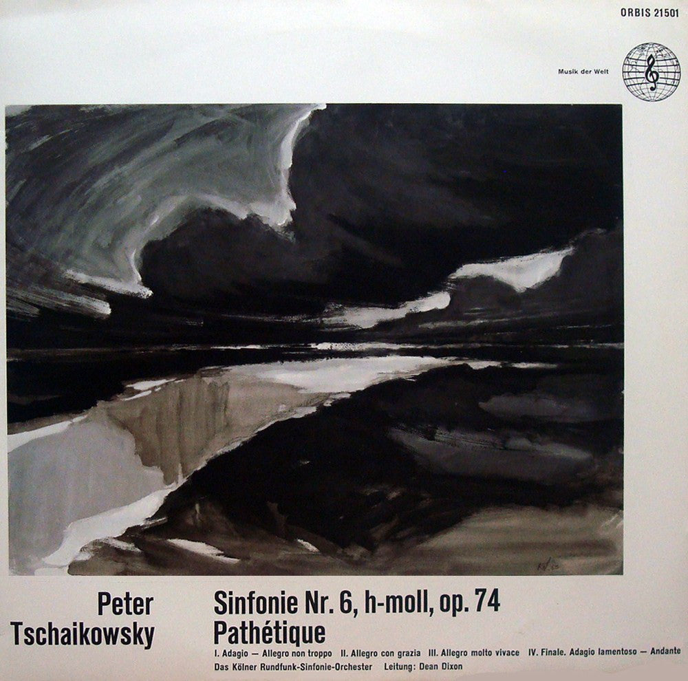 "LP - Dixon/Cologne RSO: Tchaikovsky Symphony No. 6 ""Pathetique"" - Orbis 21501"