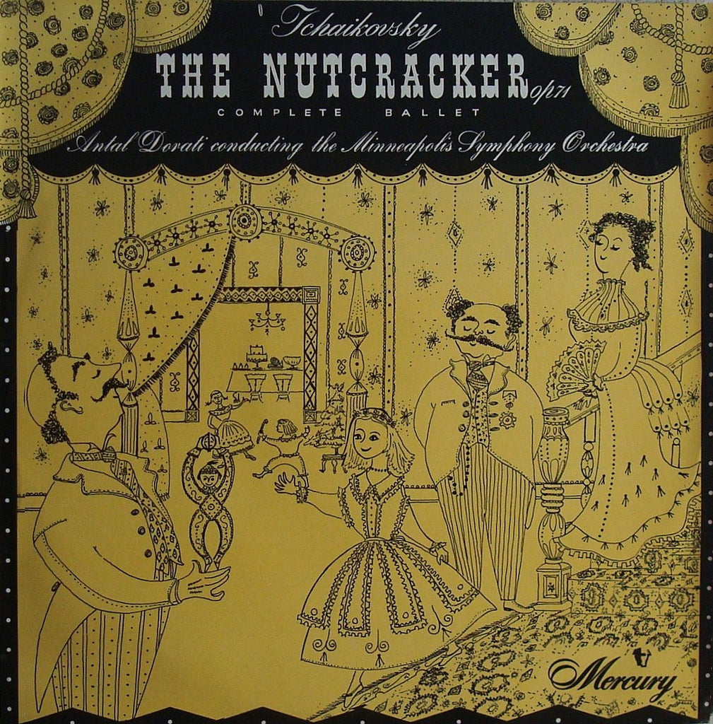 LP - Dorati/Minneapolis SO: Nutcracker Op. 71 (complete) Mercury MRL 2508/9, 2 LPs