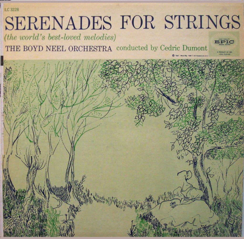 LP - Dumont: Serenades For Strings (Bach, Haydn, Fibich, Tchaikovsky, Et Al.) - Epic LC 3228