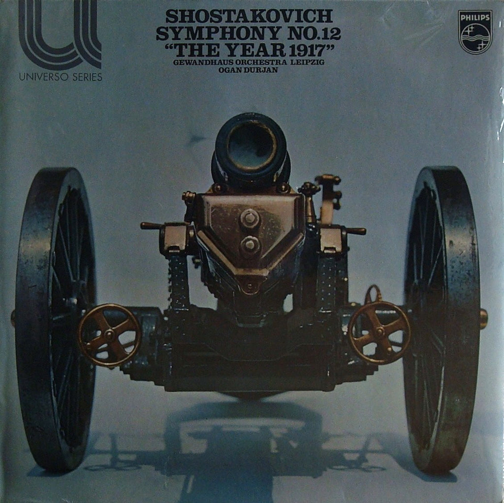 "LP - Durjan: Shostakovich Symphony No. 12 ""The Year 1917"" - Philips 6580 012 (sealed)"