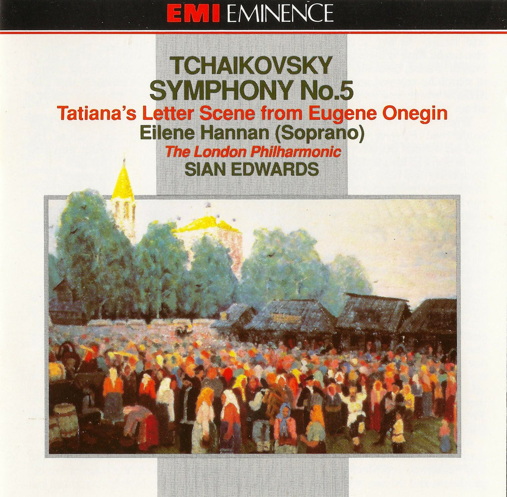 CD - Edwards/LPO: Tchaikovskky Symphony No. 5, Etc. - EMI CD-EMX 2187 (DDD)