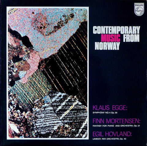 Ehrling: Egge Symphony No. 4 + Mortensen & Hovland - Philips 6507 010