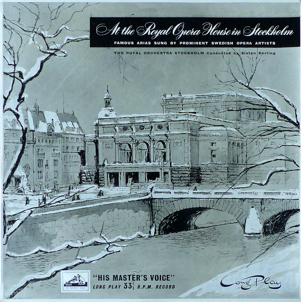 Ehrling: At the Royal Opera House in Stockholm - HMV ALPC 1