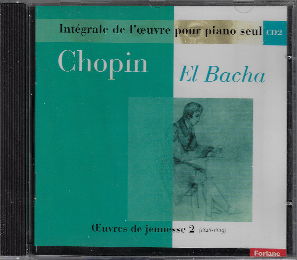 El Bacha: Chopin works Vol. 2 (miscellaneous) - Forlane 16780 (sealed)