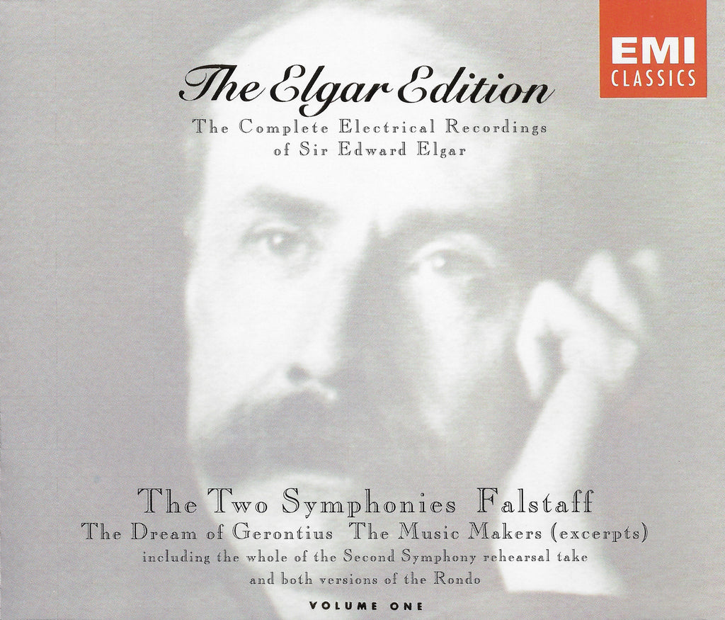Elgar Edition: Volume One (2 Symphonies, etc.) - EMI CDS 7 54560 2 (3CD set)