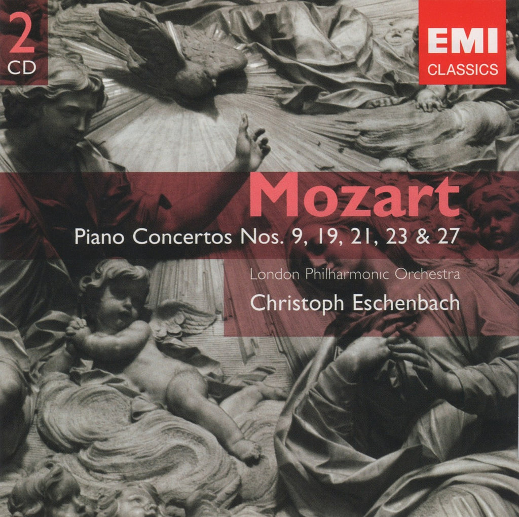 CD - Eschenbach/LPO: Mozart Piano Concertos 9, 19, 21, 23, 27 - EMI 0946 3 81793 2 0 (2CD Set)