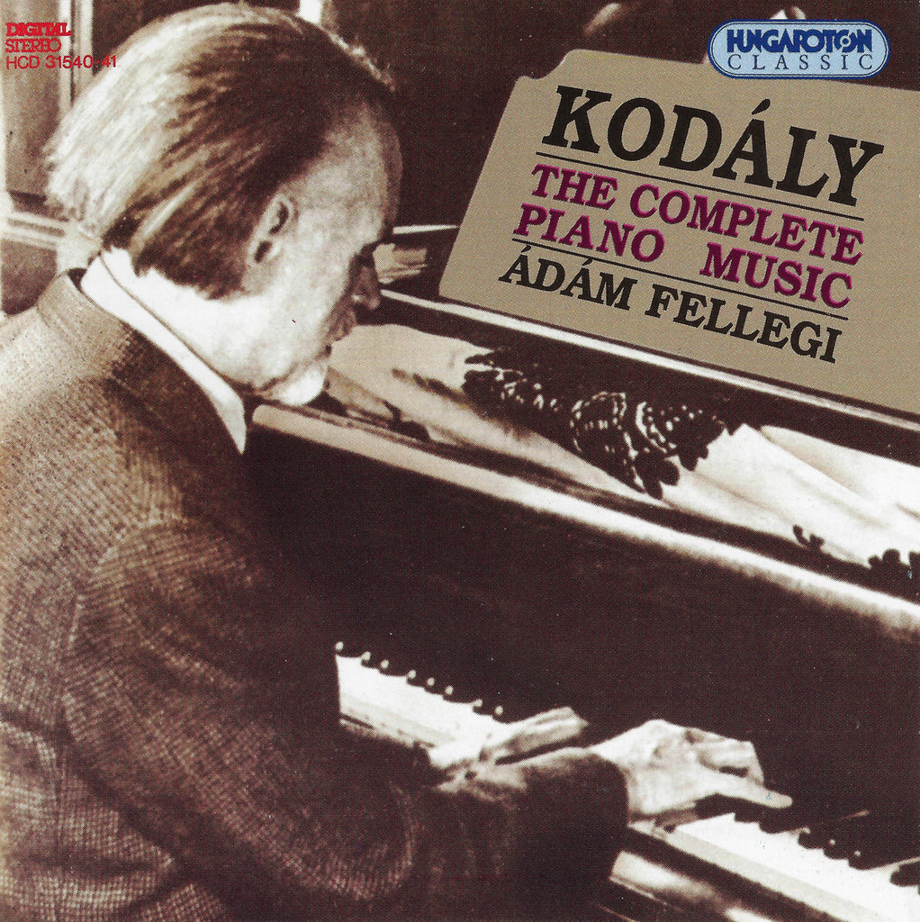 Fellegi: Kodaly Compl Piano Music - Hungaroton HCD 31540-41 (2CD set)