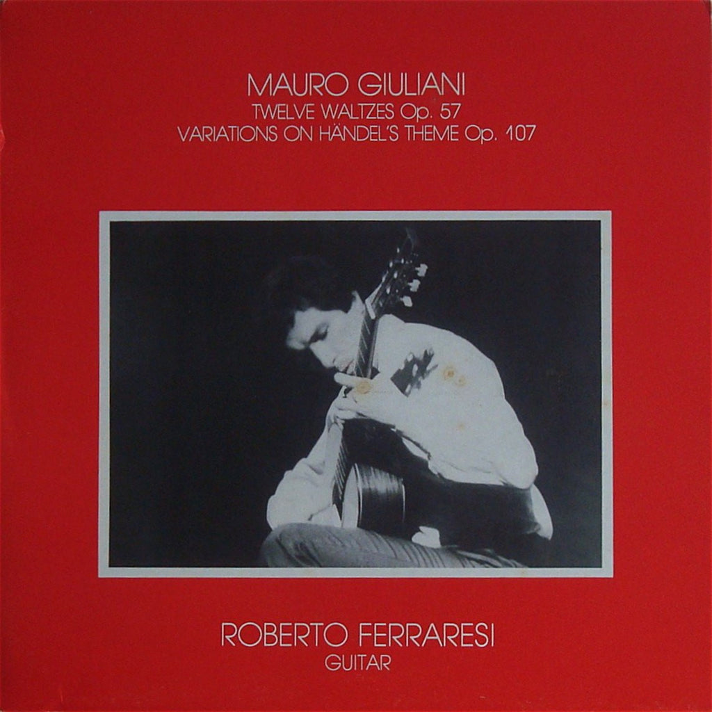 LP - Ferraresi: Giuliani Variations On A Theme By Handel, Etc. - Concerto Records GSCR 00104