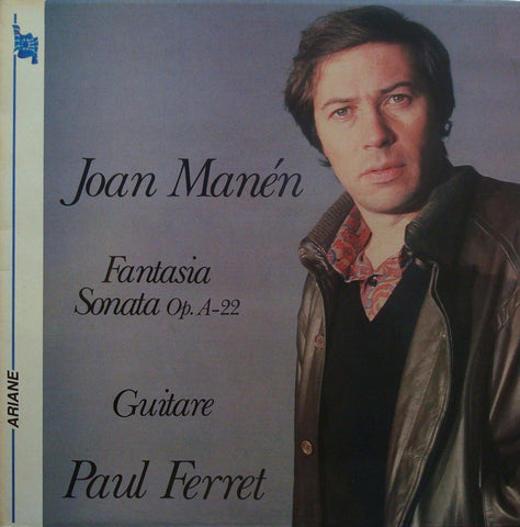 LP - Ferret: Guitar Works By Manén, Duarte, Franceries & Pujol - Scalen Disc ARI132-SCA/300