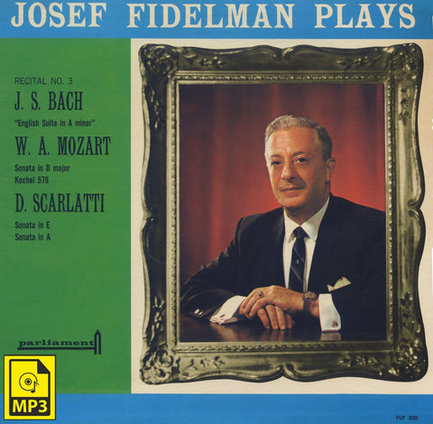 Fidelman: Scarlatti Sonata in A Major K. 113 / L. 345 - Parliament PLP 300