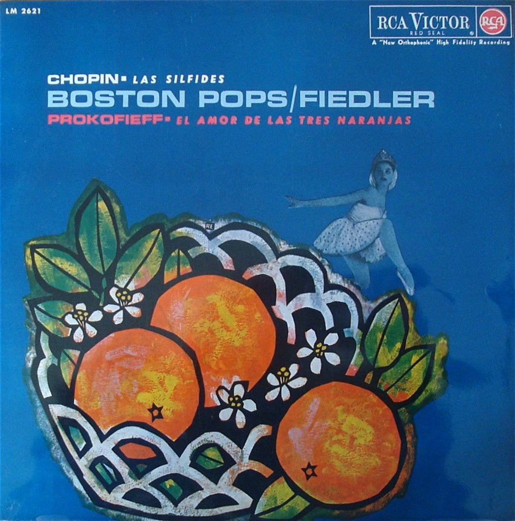 Fiedler: Love for 3 Oranges + Les Sylphides - RCA Spain LM 2621