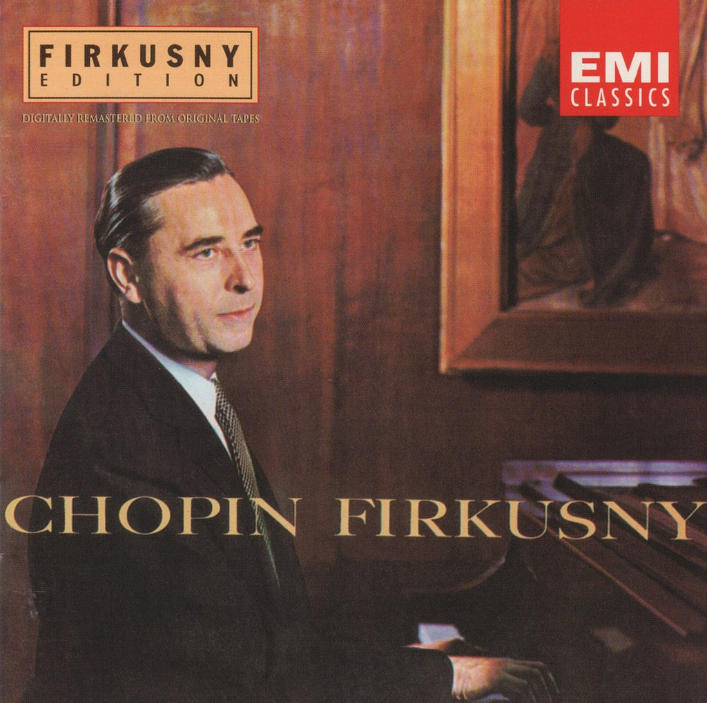 CD - Firkusny Edition: Chopin (Piano Sonata No. 3, Etc.) - EMI CDM 7243 5 66066 2 3