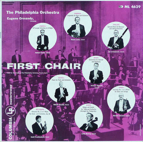 First Chair: Philadelphia Orchestra Principals - Columbia ML 4629