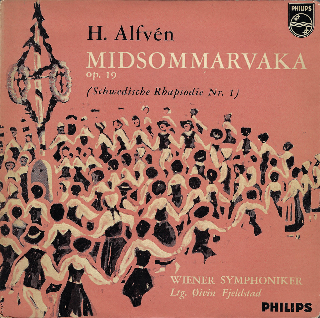 "Fjeldstad: Alfvén Swedish Rhapsody No. 1 - Philips 402 095 NE (7"" EP)"
