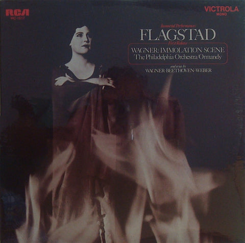 LP - Flagstad: Wagner Immolation Scene + Arias (rec. 1937) - RCA VIC-1517 (sealed)