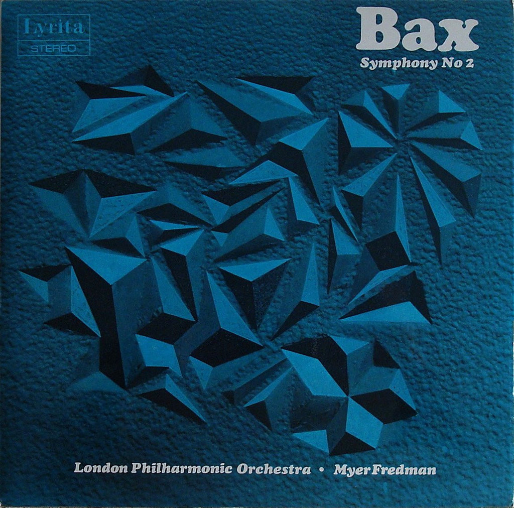 LP - Fredman/London Philharmonic: Bax Symphony No. 2 (rec. 1971) - Lyrita SRCS. 54