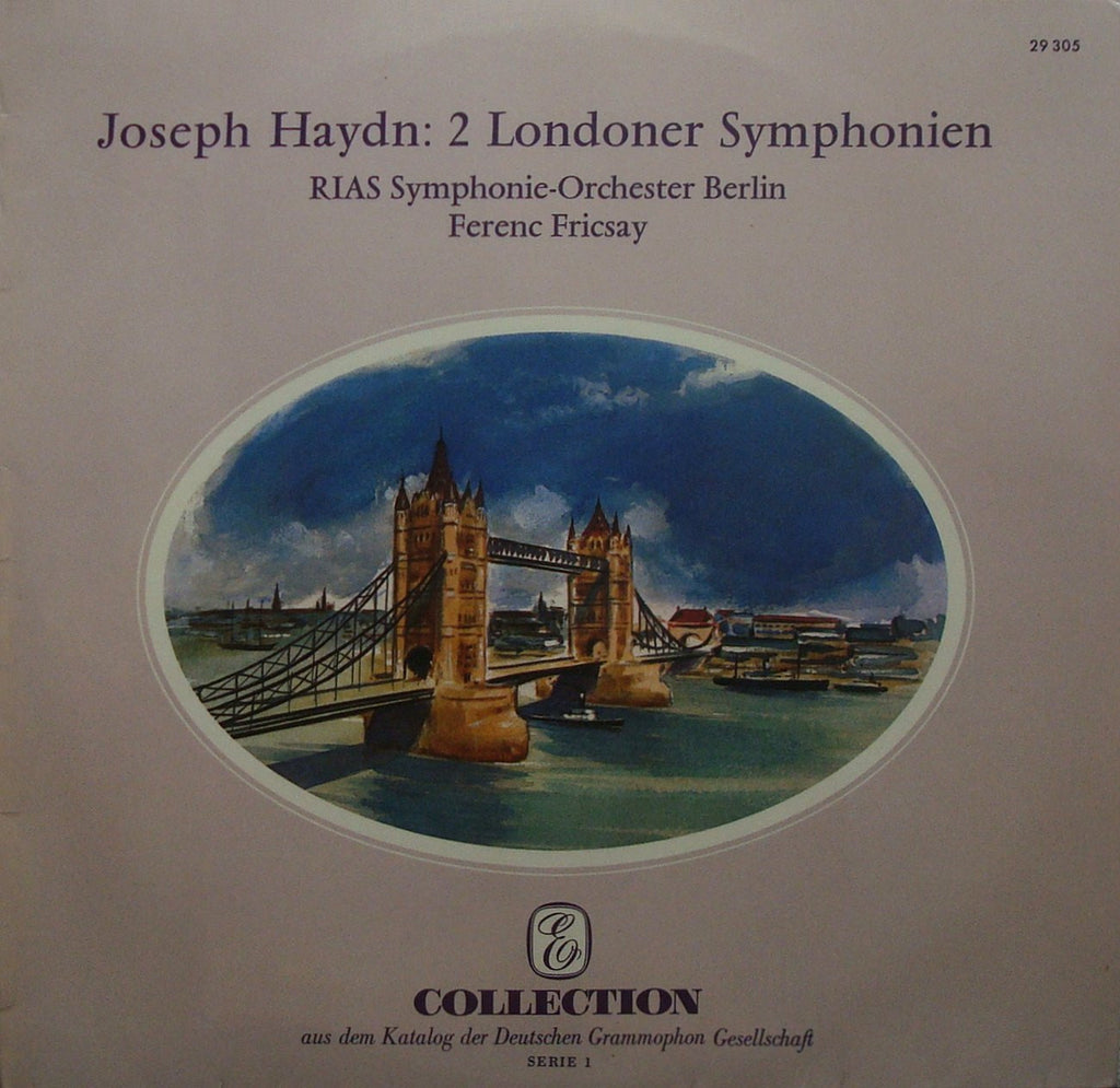 "LP - Fricsay/Berlin RIAS SO: Haydn Symphonies Nos. 95 & 98 - DG ""Collection"" 29 305"