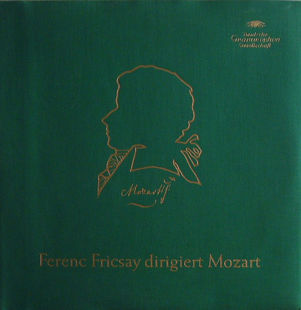 LP - Fricsay Conducts Mozart: Deluxe 2LP Jubilee Issue From 1956 - DG 554/555