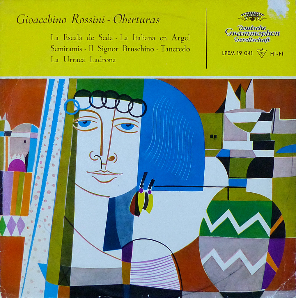 Fricsay/RIAS SO Berlin: Rossini 5 Overtures - Spanish DG LPEM 19 041