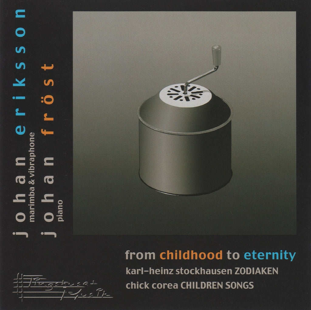 CD - Eriksson/Frost: Two Piano Recital (Stockhausen & Corea) - Tingshuset Musik AB CMCD 003