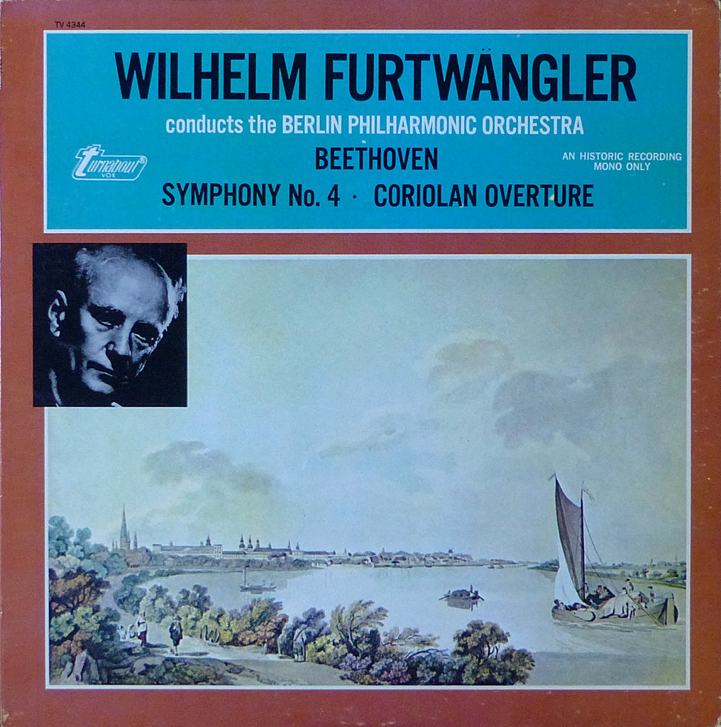 Furtwangler/BPO: Beethoven Symphony No. 4, etc. - Vox/Turnabout TV 4344