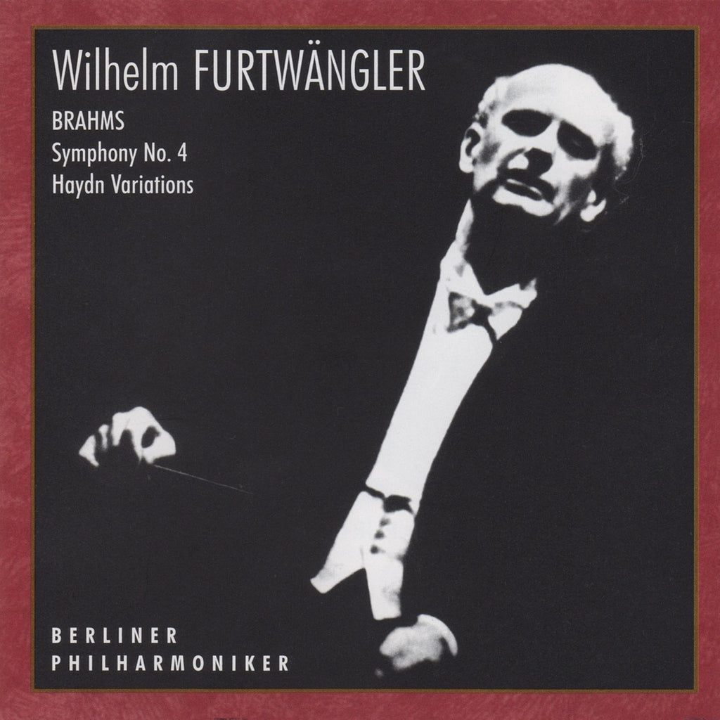 CD - Furtwangler/BPO: Brahms Symphony No. 4 + Haydn Variations - Russian Disc RCD 25013