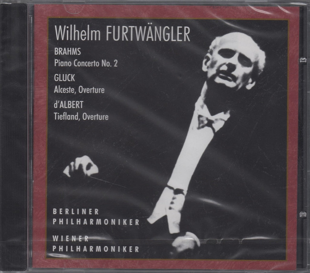 CD - Fischer/Furtwangler: Brahms Piano Concerto No. 2 + Gluck - Russian Disc RCD 25015 (sealed)