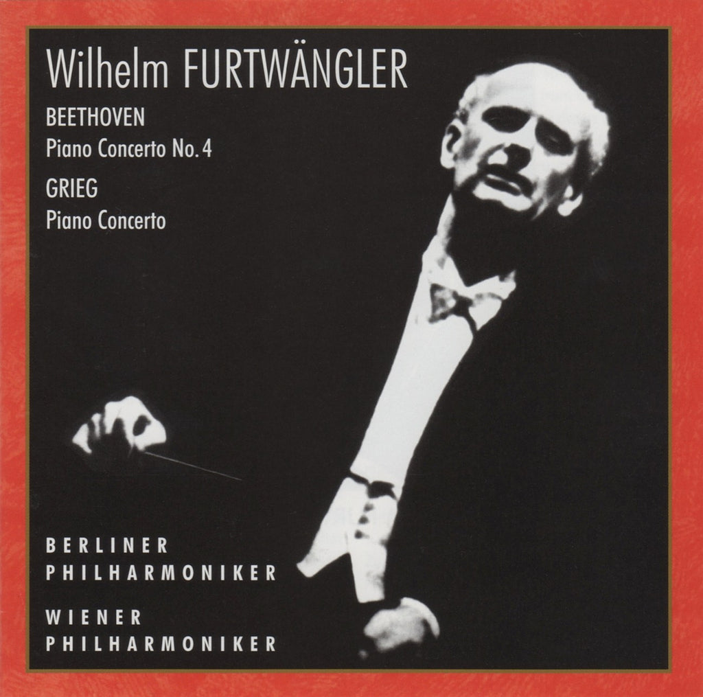 CD - Scarpini/Furtwangler: Beethoven Concerto No. 4 + Grieg (Gieseking) - Russian Disc RCD 25002