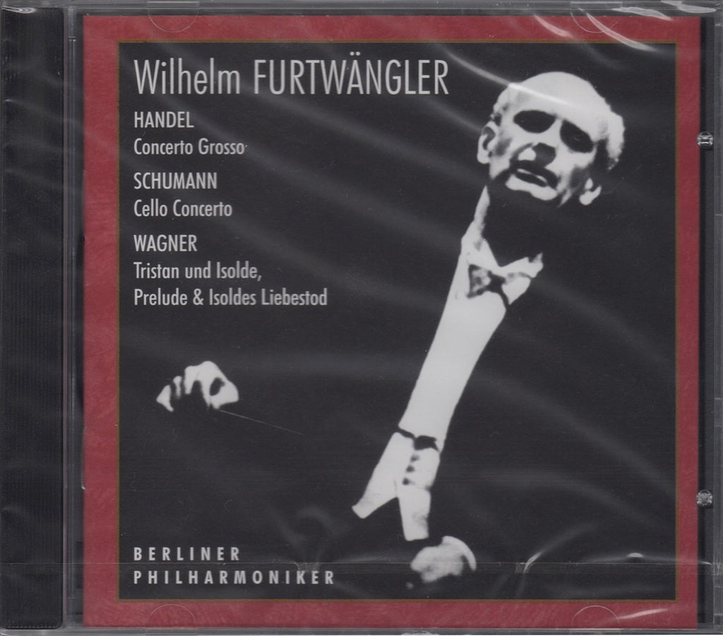 CD - Machula/Furtwangler: Schumann Cello Cto + Wagner, Handel - Russian Disc RCD 25012 (sealed)