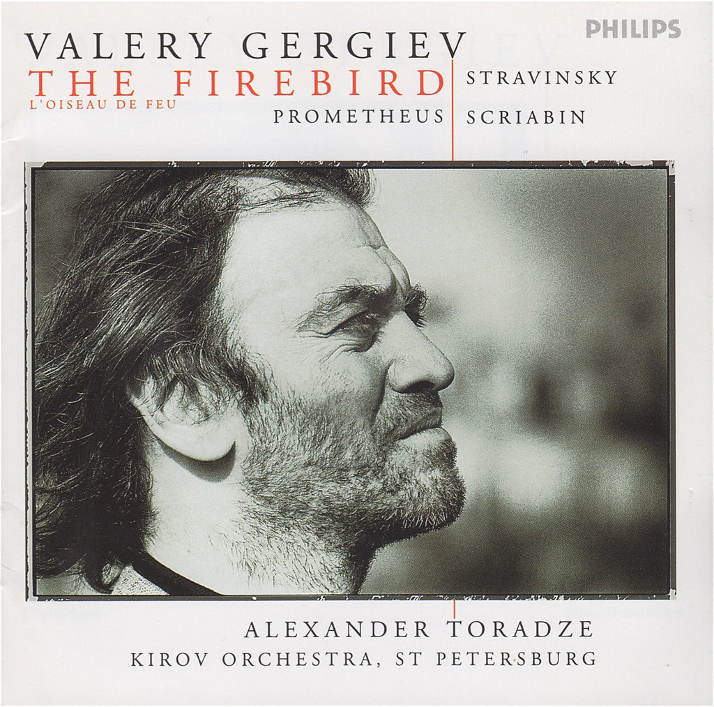 CD - Gergiev: Stravinsky Firebird + Scriabin Prometheus - Philips 289 446 715-2 (DDD)
