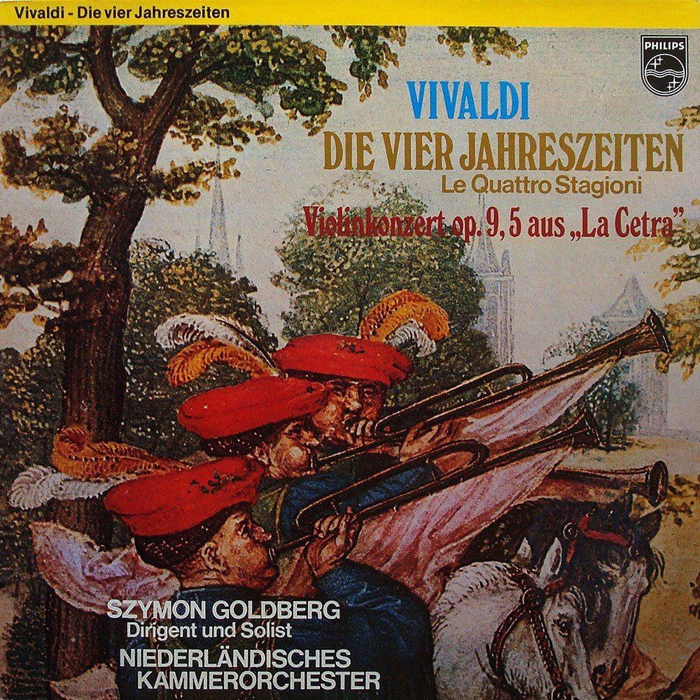 LP - Szymon Goldberg/Netherlands CO: Vivaldi 4 Seasons (r. 1973) - Philips 6566 013