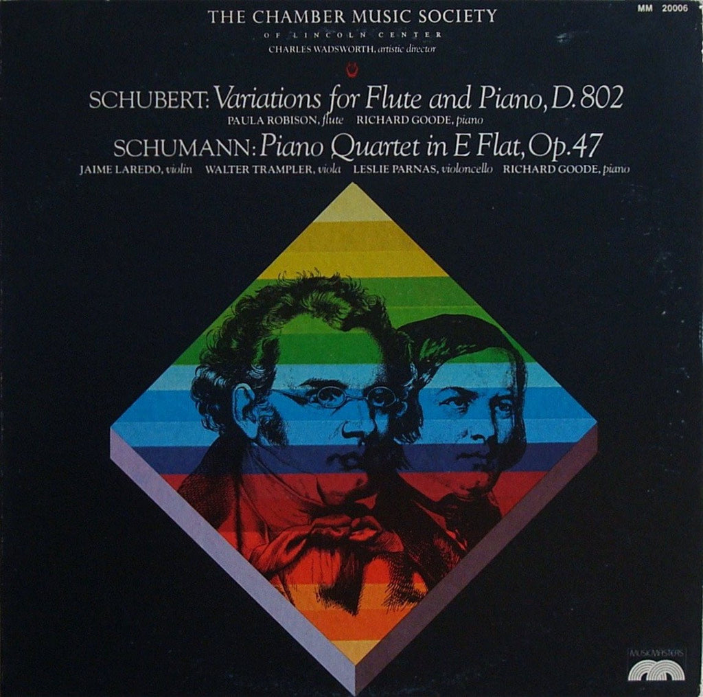 LP - Goode: Schumann Piano Quartet Op. 47 + Schubert - MusicMasters MM 20006