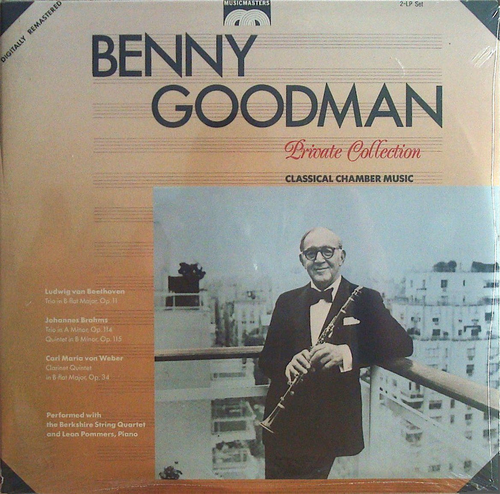 Benny Goodman: Chamber Music - MusicMasters MM 20103A/04Y (2LP set) (sealed)