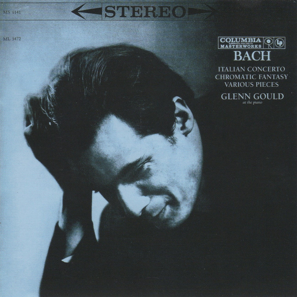 CD - Gould: Bach Italian Concerto, Chromatic Fantasy & Fugue, Etc. - Sony SMK87753