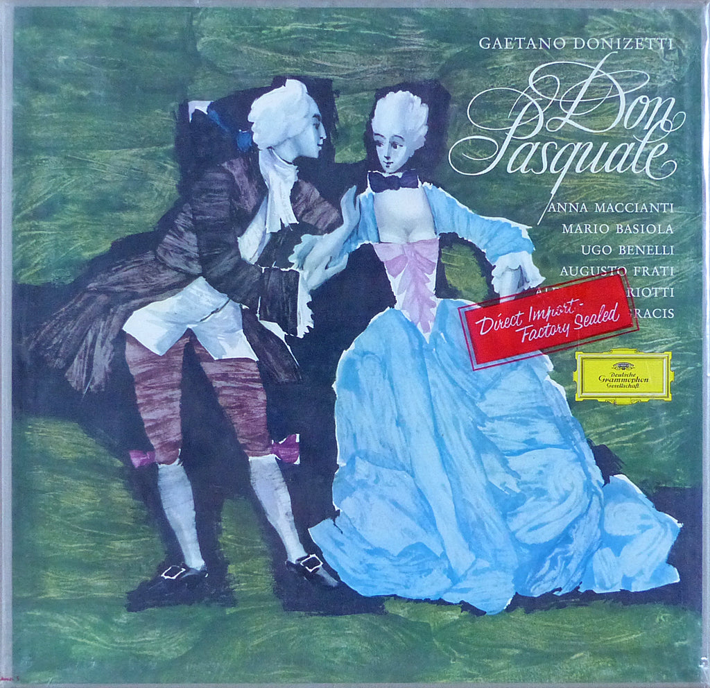 Gracis: Donizetti Don Pasquale - DG 18971/72 (2LP box set, sealed)