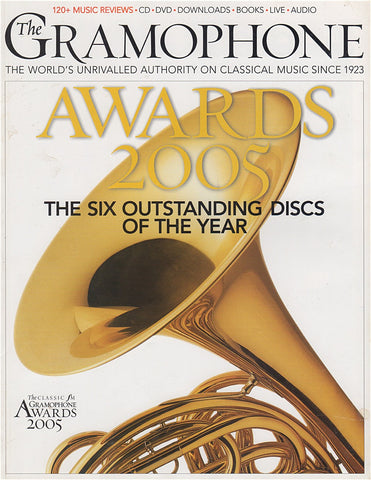 Magazine - Gramophone 2005 Awards - Magazine