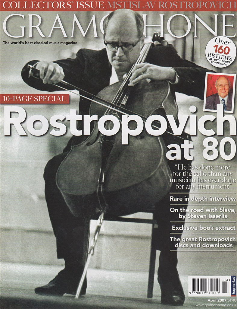 Magazine - Gramophone April 2007 - Magazine