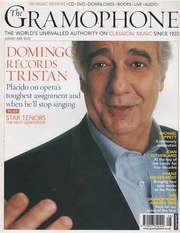Magazine - Gramophone August 2005 - Magazine