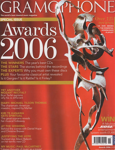 Magazine - Gramophone Awards 2006 - Magazine