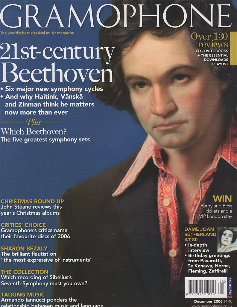 Magazine - Gramophone December 2006 - Magazine
