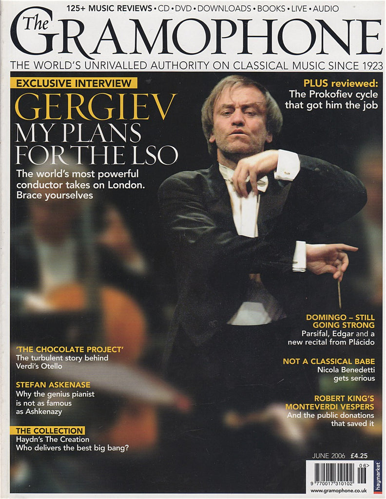 Magazine - Gramophone June 2006 - Magazine