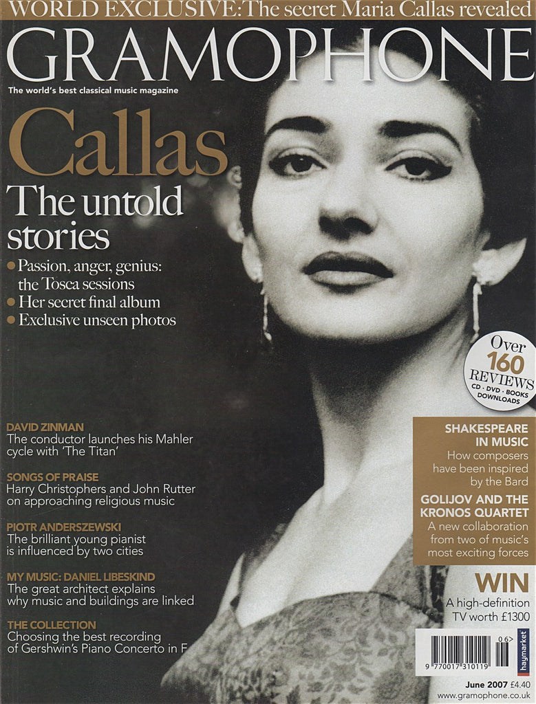 Magazine - Gramophone June 2007 - Magazine