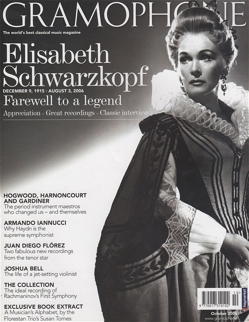 Magazine - Gramophone October 2006 - Magazine