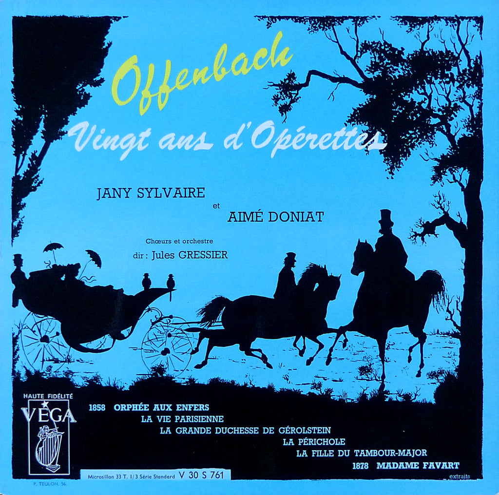 Gressier: Operatic Offenbach (Doniat & Sylvaire) - Vega V 30 S 761